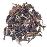 白茶白牡丹の茶葉