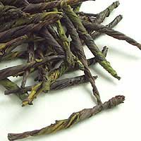一葉茶 (苦丁茶)の茶葉画像