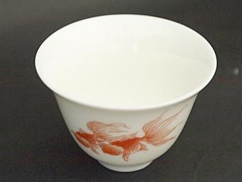 風清堂金魚茶杯
